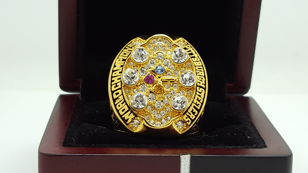 2008 Pittsburgh Steelers super bowl Championship Ring 11 Size high quality in stock for sale .(China (Mainland))