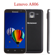 ZK3 Original Lenovo A8 A806 Mobile Phone Android 4.4 LTE 4G FDD 5.0″ 1280×720 MTK6592 Octa Core 2GB+16GB 13MP Camera GPS Phones