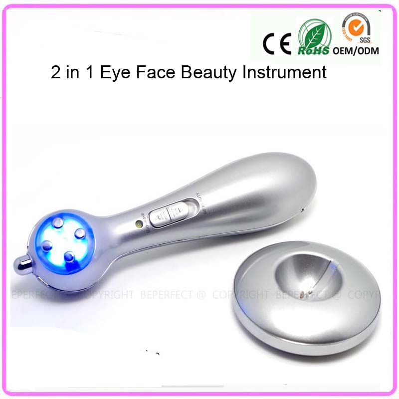 Фотография  Mini Handheld Rechargeable RF Mesotherapy Face Lifting Skin Tightening Eye Wrinkle Care Beauty Massager Instrument