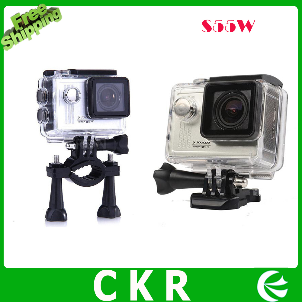 S55W Sports Action Camera Video Recorder Waterproof 30m 170 Degree Anti-Shake WiFi 1080P Full HD  Camcorder<br><br>Aliexpress