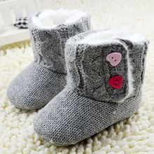 0-1 Years Cheap Baby Shoes Girl Shoes First Walkers Autumn Winter Boy Baby Boots(China (Mainland))