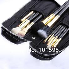 2015 New Professional Makeup Brush 12 Pcs Brush Cosmetic Make Up Foundation Eyeshadow Lip Brush Set