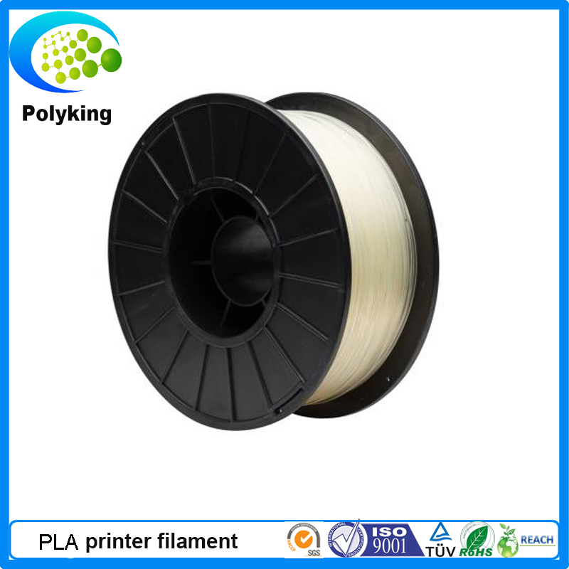1 75mm Nature PLA 3D Printer supplier plastic rubber consumable material 1kg Spool