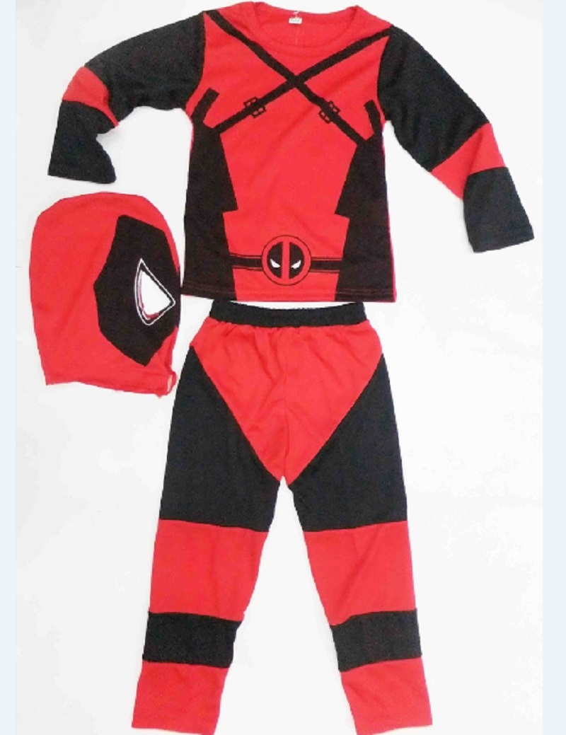 Children Deadpool Costume Halloween Costume for Kids
