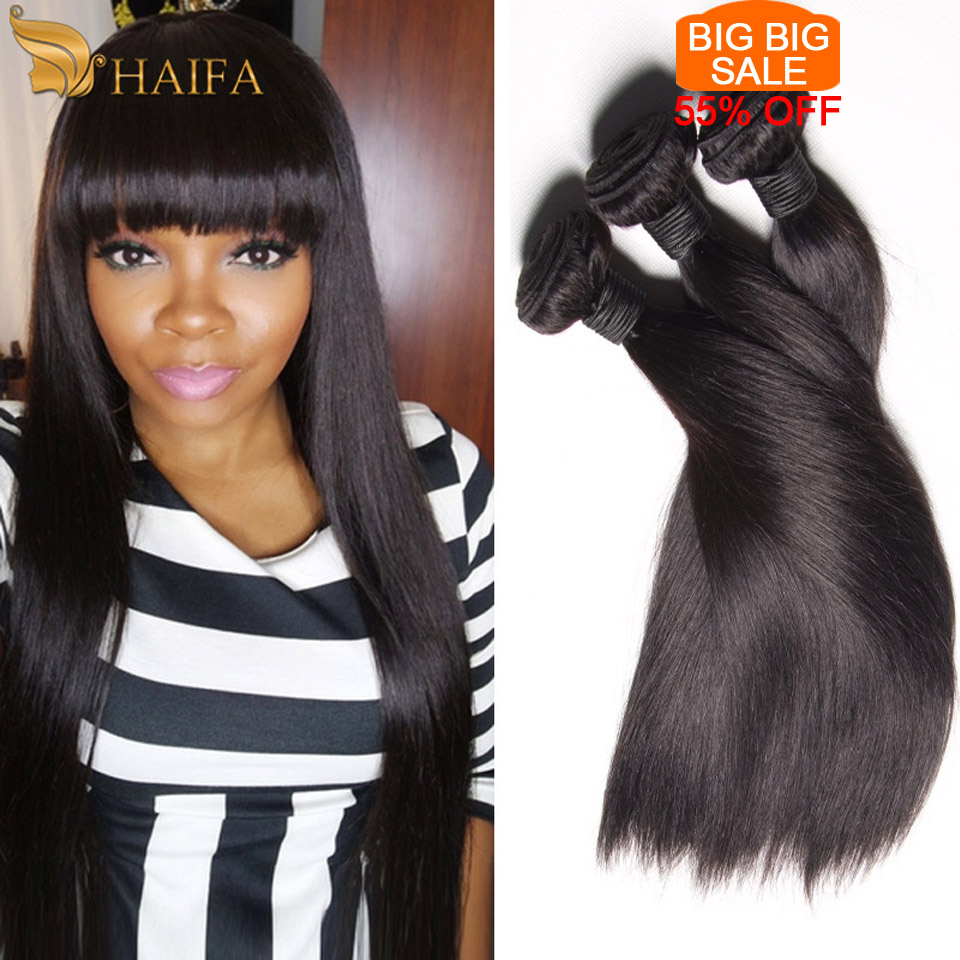 Unprocessed Virgin Brazilian Straight hair 3 Bundles Grace Hair Products Brazilian Straight virgin Hair Human Hair extensions