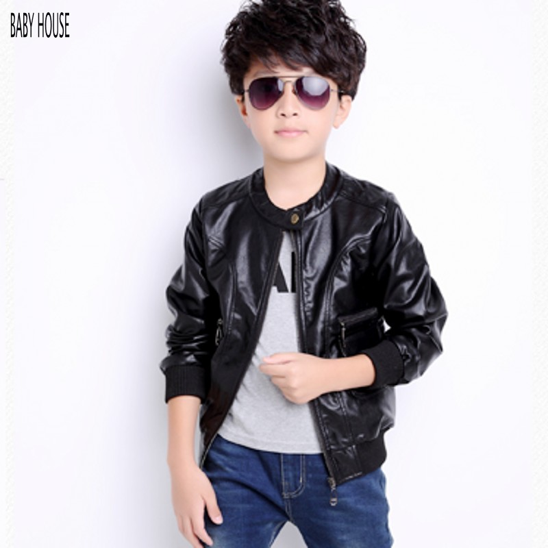 Kids Leather Jackets Boys - Jacket