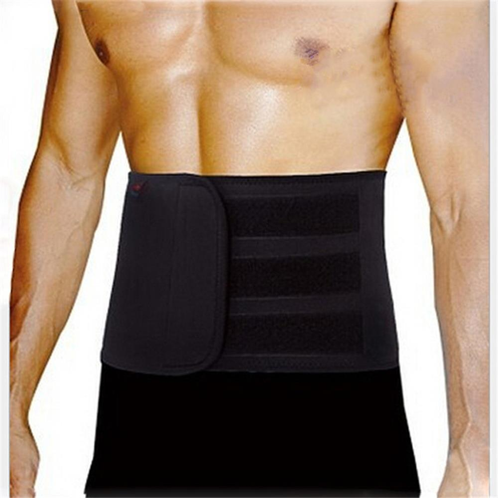 Гаджет  HOT Men Waist Support Belt Lumbar Brace Breathable Protection Back Absorb Sweat Fitness Sport Protective Gear None Спорт и развлечения