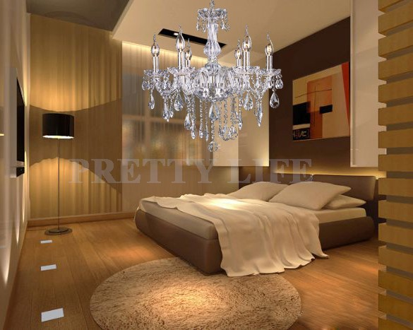Modern Large Crystal Chandelier 110v Luxury Crystal Light Chandeliers Fashion Crystal Pendants For Chandeliers 24(China (Mainland))