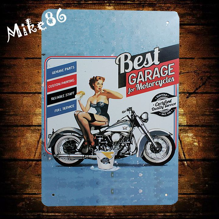 Buy mike86 best garage motorcycle for Best store to buy posters