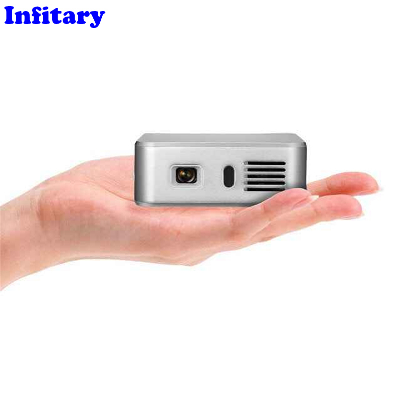 New mini portable hd 1080p 3d led projector perfect home for Hd handheld projector