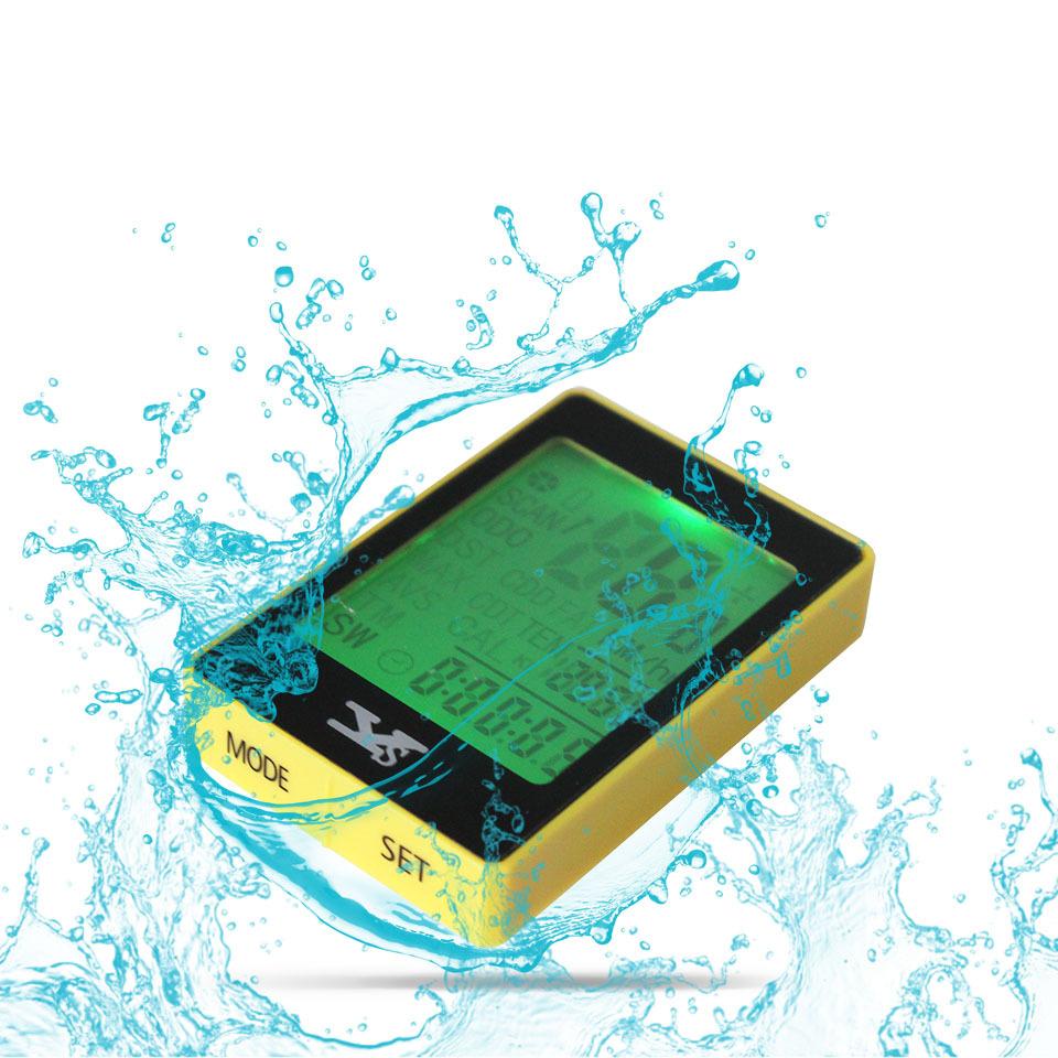 YS-668C Waterproof Cycling Odometer Multifunction Bicycle Computer Backlight Wireless YS Bike Speedometer Stopwatch English Menu(China (Mainland))
