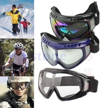 Free Shipping Protection Airsoft Goggles Tactical Paintball Clear Glasses Wind Dust Motorcycle