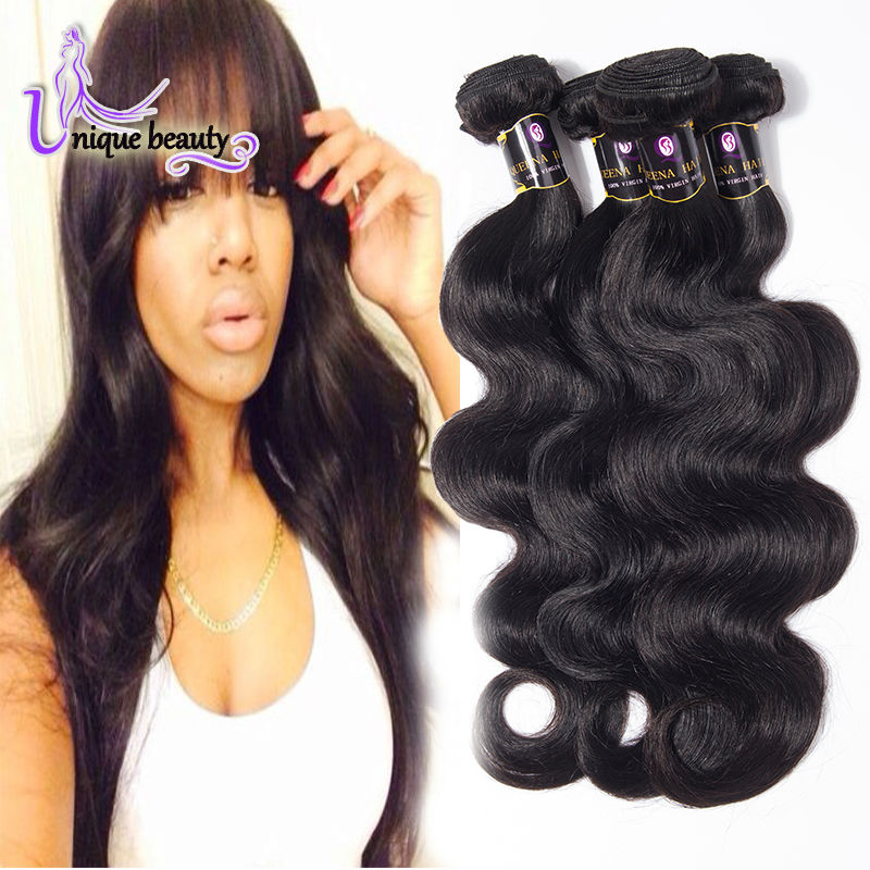 7A Unprocessed Brazilian Body Wave Virgin Hair 4 Bundles Mario Hair Brazilian Virgin Hair Body Wave 100 Human Hair Weave Brands