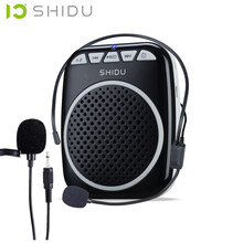 2016 New Digital teaching Megaphone Microphone Voice Amplifier Loudspeaker Audio Booster External Speaker With USB TF Waistband(China (Mainland))