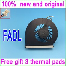 Gift 3 Thermal pads FADL DFS551005M30T Cooling fan 646181-001 646182-001 For HP CQ430 431 435 436 630 631 635 636 Cooler fan