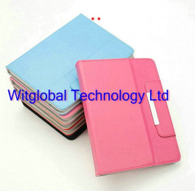 Luxury Stand Folio Leather Case Protective Cover 9.7 Woxter nimbus 97Q 98Q RoverPad Tesla 9.7 3G Tablet Free Shipping<br><br>Aliexpress