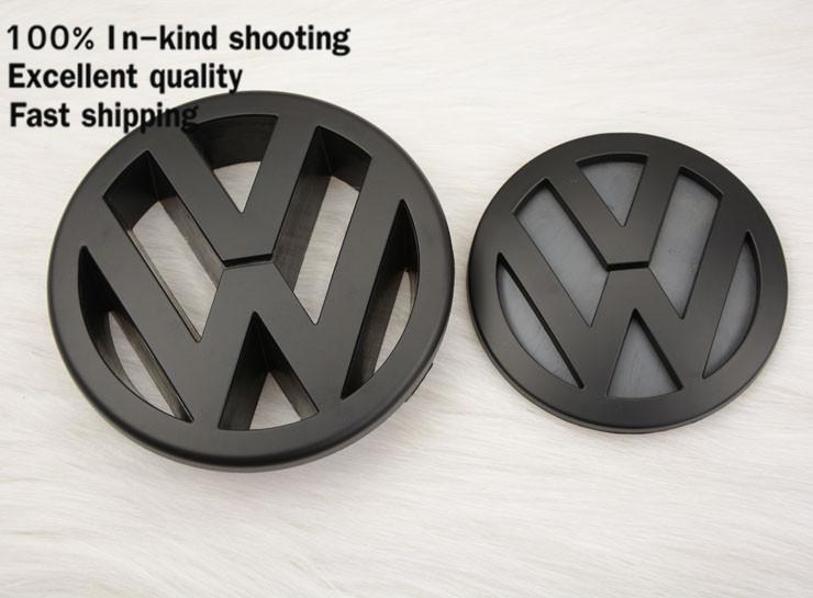 Volkswagen Parts VW Golf 5 MK5 Front Grille Badge LOGO Black Color Glossy finished Emblem for Golf5(China (Mainland))