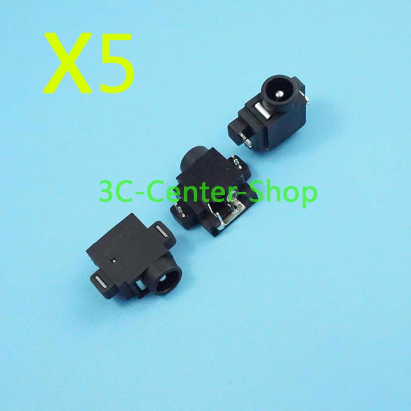 5 PCS Laptop dc power jack For Samsung Q10 Q12 Q20 Q25 Gateway 200STM DC Connector Free Shipping + Tracking Number(China (Mainland))