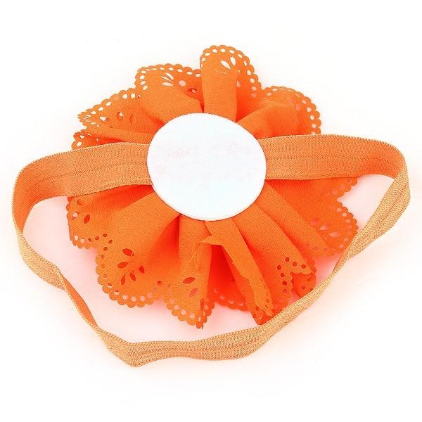 малышей младенцев девушки дети шифон цветок повязка на голову полоса мило 11 цветов модный аксессуар