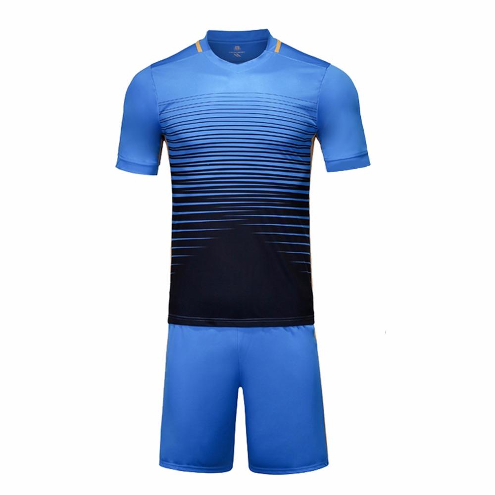 Football jerseys 6 colors new training soccer kits sports wear paintless football soccer jerseys youth custom football jerseys(China (Mainland))