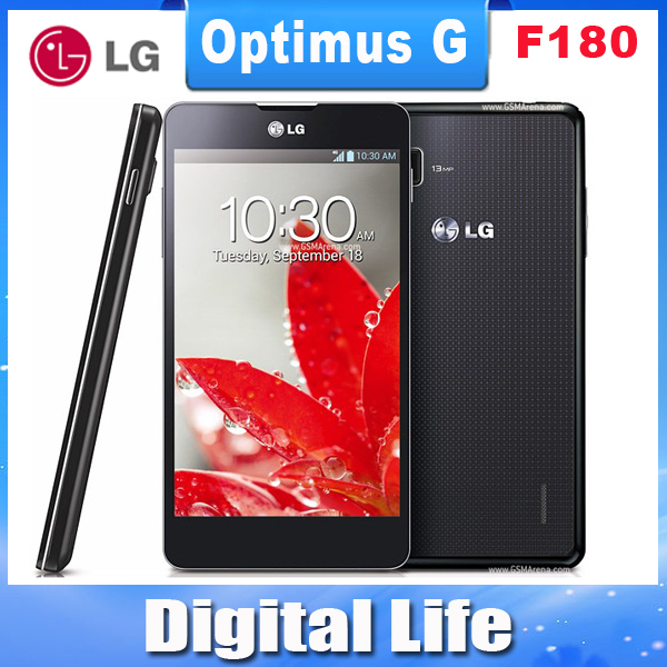 "F180 LG Optimus G F180L E975 Original unlocked F180S F180K GSM 3G&4G Android 4.7"" 13MP 32GB Quad-core WIFI GPS mobile phone(China (Mainland))"