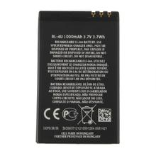 1pcs 3.7V 1000MAH Cell Phone li-ion replacement BATTERY for Nokia BL-4U T5 Rechargeable DropShipping!