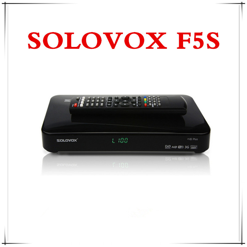 AZ Technology Hot Solovox F5S Support CCCAM Europe Subscription Satellite Receiver box Support USB Wifi DVB-S2(China (Mainland))