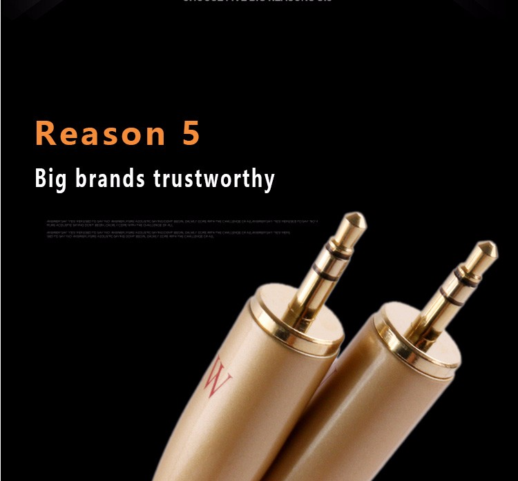 SKW AUX Cable Car for iPhone 3.5mm Male to Male Stereo Audio Cable 3.5mm jack aux cable Headphone home theater Beats Speaker DV
