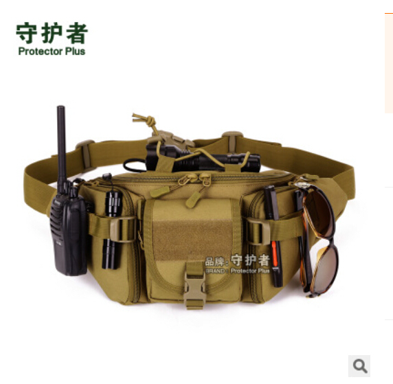 Canvas Tactical Chest Sling Pack Outdoor Sport One Single Shoulder Man Casual Travel Hiking Military Messenger Bag(China (Mainland))