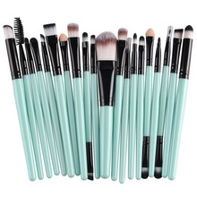 Buy 20 pcs Makeup brushes sets Pro hair eyebrow foundation brush pen cleaner Cosmetics maquiagem make brush set Blusher cosmetics for $4.48 in AliExpress store
