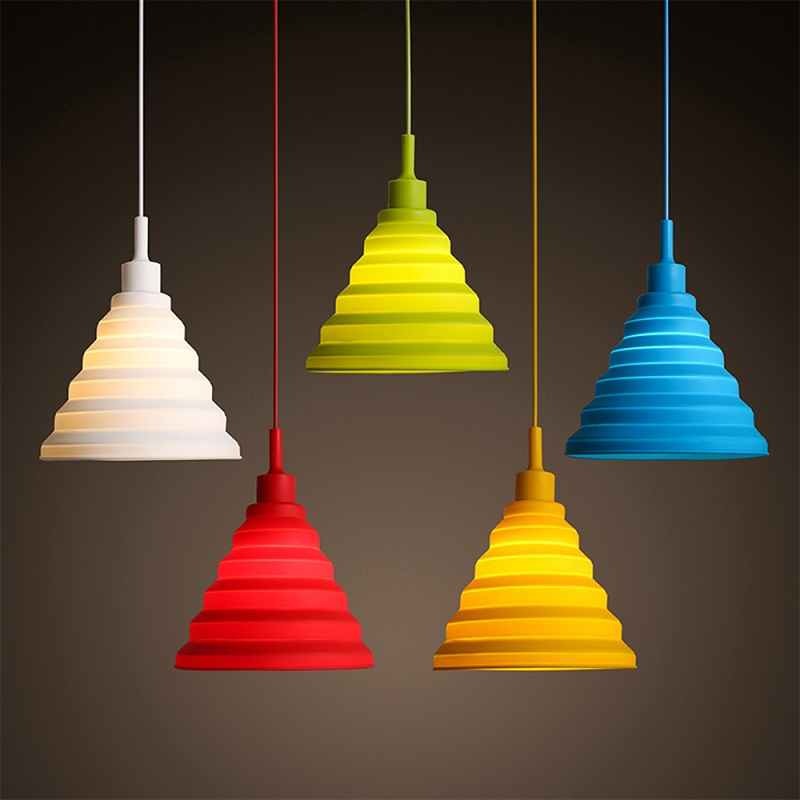 colorful pendant lights 5 color diy pendant lights for. Black Bedroom Furniture Sets. Home Design Ideas