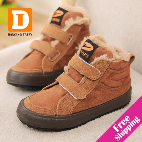 Гаджет  new 2014 autumn winter children shoes warm waterproof patent leather high boys & girls shoes kids boots children sneaker None Детские товары