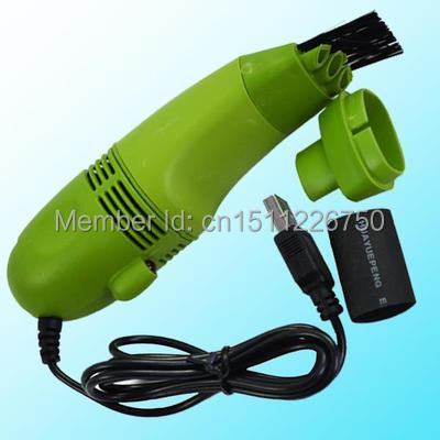 Free Shipping Hot Mini USB Vacuum Keyboard Dust Collector For LAPTOP Notebook PC Cleaner 7195 ehuKoy(China (Mainland))
