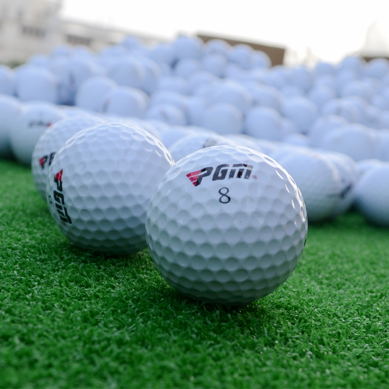 Top quality Professional Three Piece Ball Golf Competition Balls Driving Range Golf Balls Golf practice balls(China (Mainland))