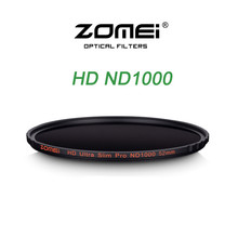 Buy Zomei 52/58/67/72/77/82MM Ultra Slim MC ND1000 ND3.0 10 Stop Sliver Rimmed Glass Neutral Density ND Filter for Canon Nikon Sony for $28.75 in AliExpress store