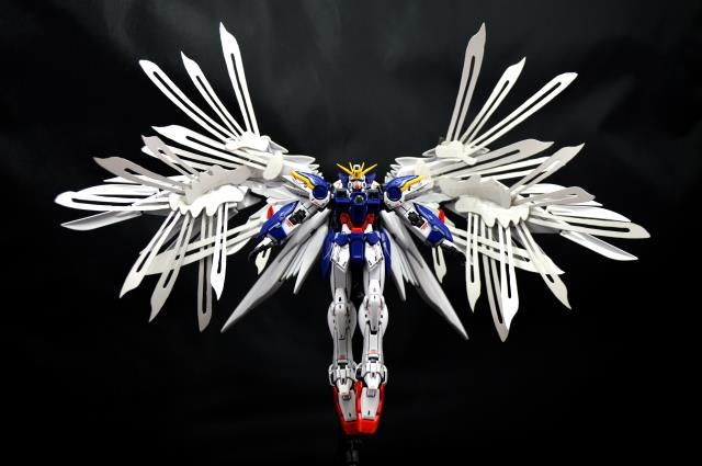 More map RG-17 1: 144 XXXG-00W0 wing Zero EW Ver. Special Feather change parts Assembled with high quality gunpla<br><br>Aliexpress