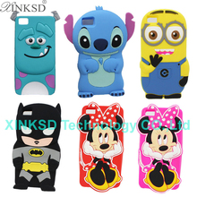 Buy Phone Cases BQ Aquaris M5 3D Cute Cartoon Stitch Minnie Minions Sulley Darth Vader Batman Silicone Back Cover Case BQ M5 for $3.96 in AliExpress store