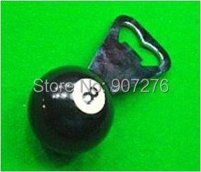 New billiard ball accessory, number 8 pool ball corkscrew, snooker billiard table accessory(China (Mainland))