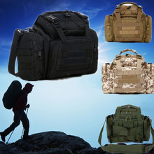 New Fishing Tackle Bag Pack Waist Shoulder Waterproof Box Reel Lure Gear Storage(China (Mainland))