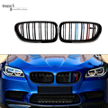 2010 5 Series F10 Racing Grille Dual Slat Kidney Front Grills For bmw F10 520i 523i