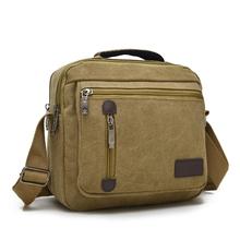 2016 Men and Women Canvas Messenger bags Leisure Unisex Vintage Canvas Bag Handbags Cross Body Shoulder Bags 5 Colors(China (Mainland))