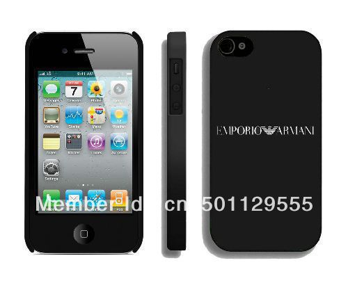 dirt proof aaa quality Fashion luxury cell phone 4s case brand name logo design popular trend(China (Mainland))