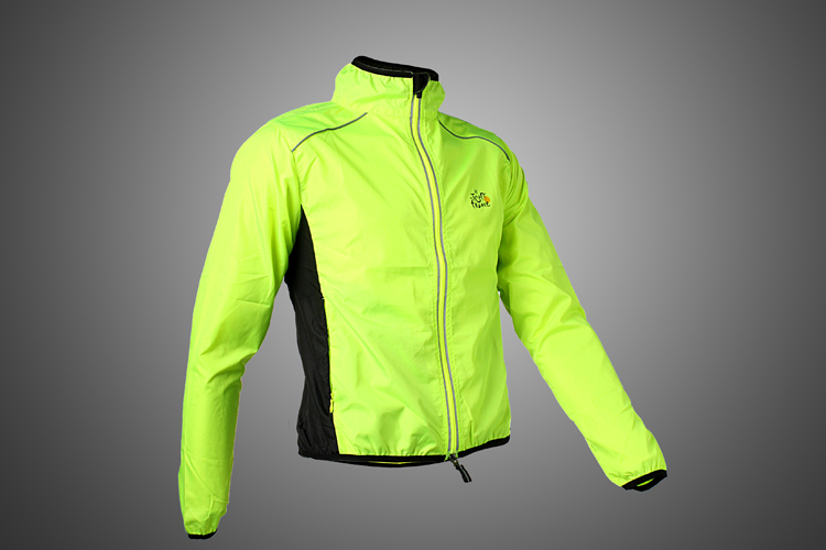 Hot! Tour de France Cycling Sports Men's Riding Breathable Reflective Jersey Cycle Clothing Long Sleeve Wind Coat Jacket, 6Color(China (Mainland))