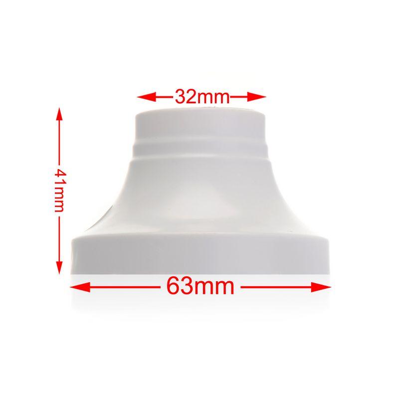 200 x E27 Socket LED Lamp Base Holder Bulb Adapter Round Screw Fixing Fitting Socket Connector Wholesale(China (Mainland))