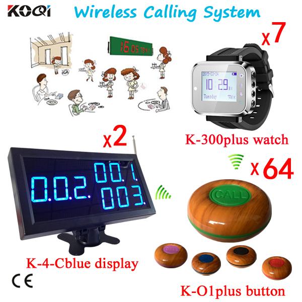 New Model Hot Sell Restaurant Coffee Shop Equipment Wireless Waiter Buzzer(China (Mainland))