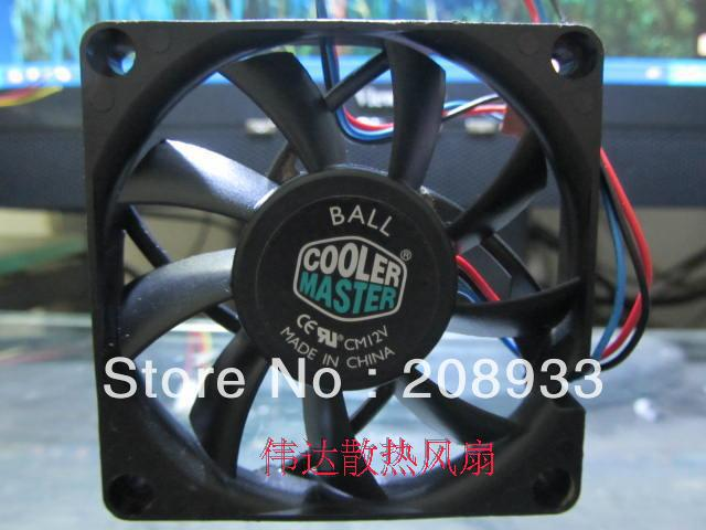 Cooler Master CPU cooling fan 7cm amdcpu of fan 7015 DC 12V(China (Mainland))