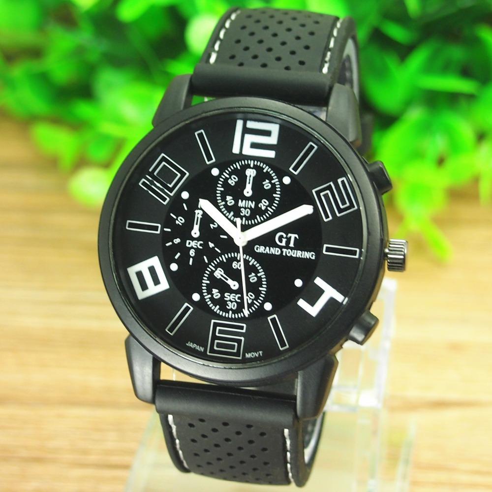 2014 The new concept design watches men luxury brand GT Racing Form men watch wristwatches