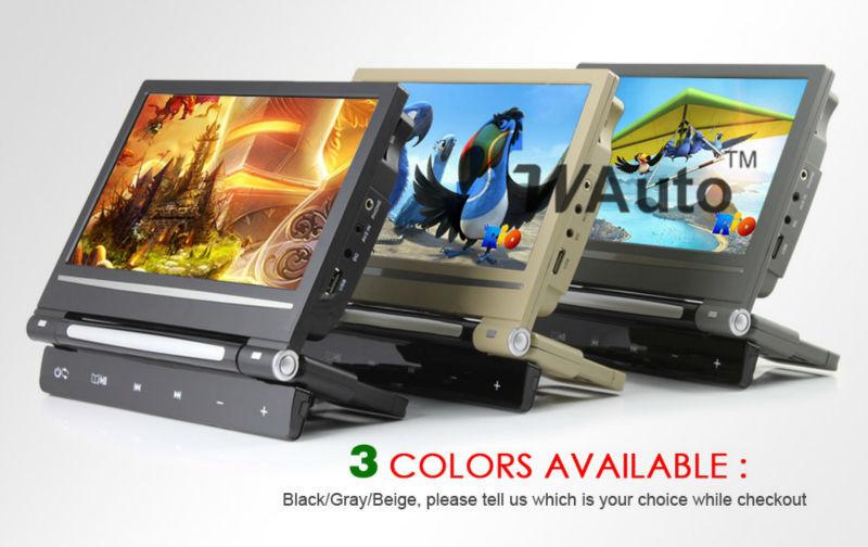 9 inch Car DVD player Headrest DVD Box support DVD MP5 MP4 MP3 USB SD Card IR Transmit FM Transmit Games dvd automotivo(China (Mainland))