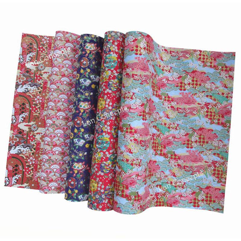 39 x 27cm mixed designs Japanese Washi Origami Paper for crafts scrapbooking decoration - 15pcs/lot LA0070 free shipping(China (Mainland))