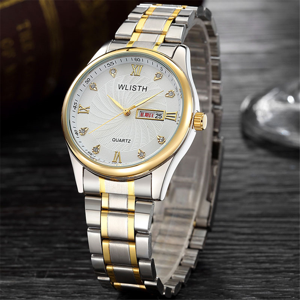 NEW 2016 Quartz Watch Men Top Brand Luxury Wrist Watches Men Clock Men's Steel Wristwatch Male Quartz-Watch Relogio Masculino(China (Mainland))